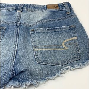 American Eagle Outfitters Shorts - American Eagle Hi Rise Festival jean shorts